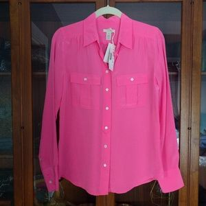 New J. Crew silk blouse!